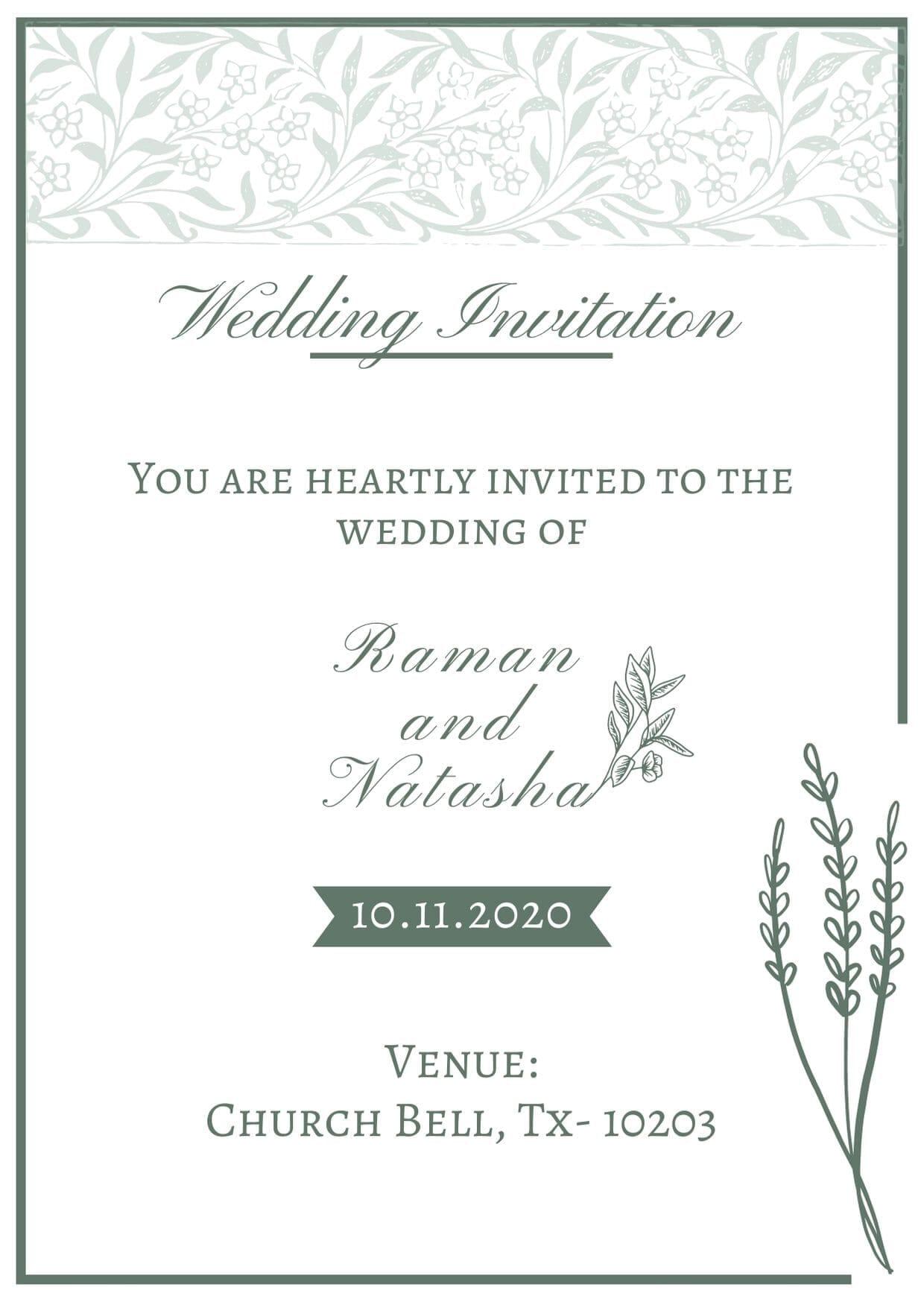 Free Wedding e-cards for Whatsapp